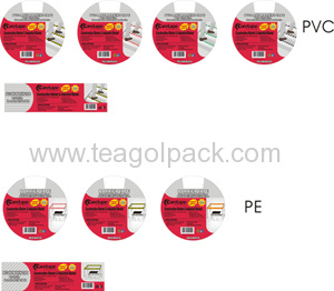 PVC Warning Tape-Round Labels & Square Stickers