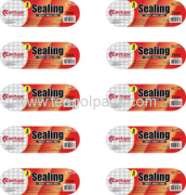 3PK & 6PK OPP Packing Tape-Square Stickers