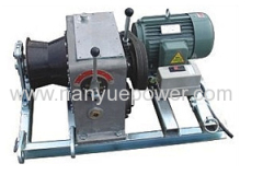 Electric Cable Pulling Winch Machine