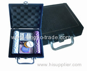100 pcs leather case poker chip sets china suppliers