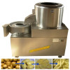 Stainless potato washing peeling and cutting machine