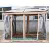Polycarbonate outdoor gazebo PC roof gazebo