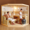 New design culture stone dry sauna room sauna house