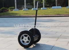 Two Wheel Electric Self Balancing Scooters unicycle For Patrol compared with Segway