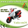 60v 800w 20ah 10inch disc brake mini sport style electric scooter motorcycle (yada em34)