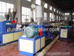 PVC Pipe Production machinery lines duramachine