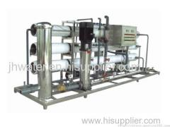 RO-P type Reverse Osmosis Water treatment System for bottled pure water and dual water supply