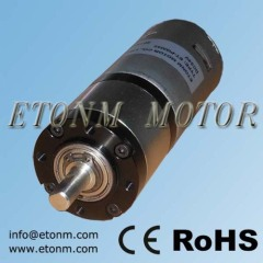 high speed high torque electric valve robotic planetary motor