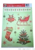 Christmas decorations paper sticker