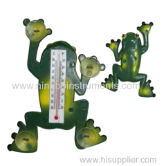 Frog shape Window thermometer