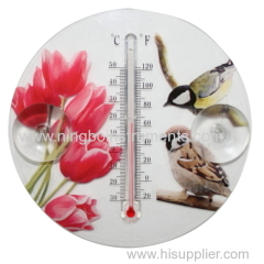 cheap plastic window thermometer