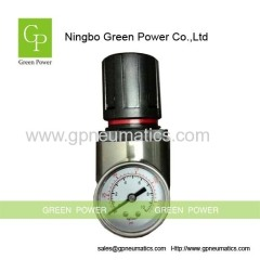 Pneumatic stainless steel pressure regulator