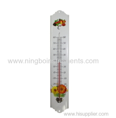 Garden Thermometers; Metal Garden Thermometer