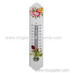 Metal Garden Thermometer; cheap metal thermometer