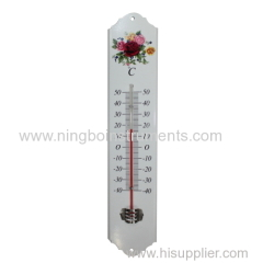 Metal Garden Thermometer; China Garden Thermometer