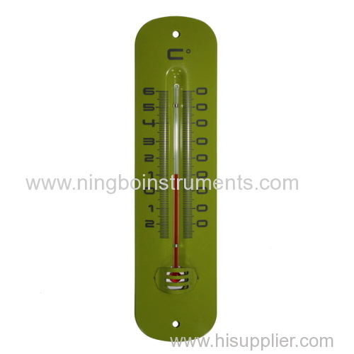 Metal Garden Thermometer; New Metal Garden Thermometer