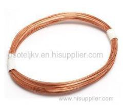 Smooth Coating Bronze Coated 0.8% Sn Tyre Bead Wire for Motorcycles 1496N / 50mm 0.95mm
