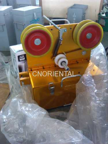 OPGW stringing fiber optic cable trator