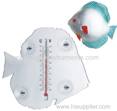 Fish Window Thermometer; Animal Window Thermometer