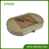 high quality bamboo bread cutting board with drawer