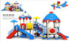 Kids Used Attractive Amusement Park Equipment,Plastic Outdoor Playground Equipment Items