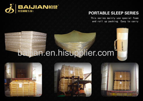 continuous spring & latex soft hotel mattress