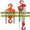 Chain pulley blocks instruction