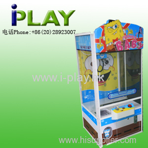 Sponge Baby --Amusement Coin Operated Prize Crane Game Machine for kids