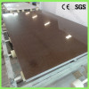 Customized Size Pure Brown Quartz Stone Polishing