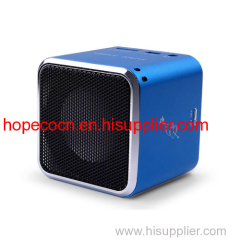 portable mini cube speaker