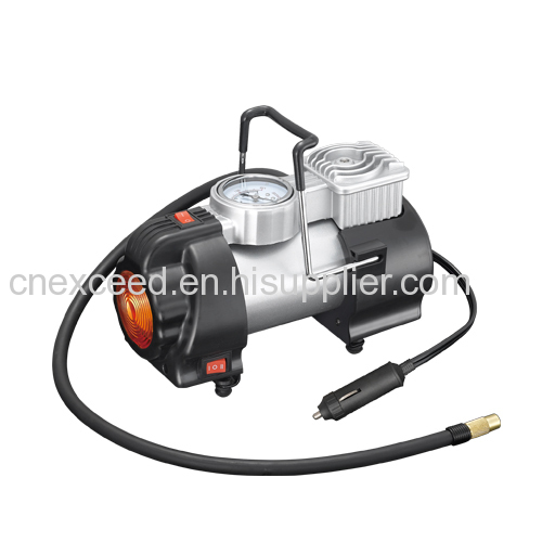 12V Portable Car Tire Inflator pump METAL