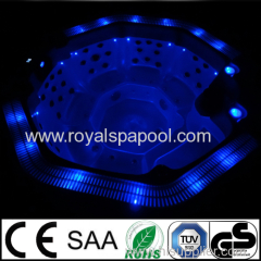 Outdoor round spa outdoor whirlpool with CE SAA approved