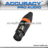 Professional New XLR female Audio and Video Connector XLR187ORG