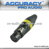 Professional New XLR female Audio and Video Connector XLR187Y