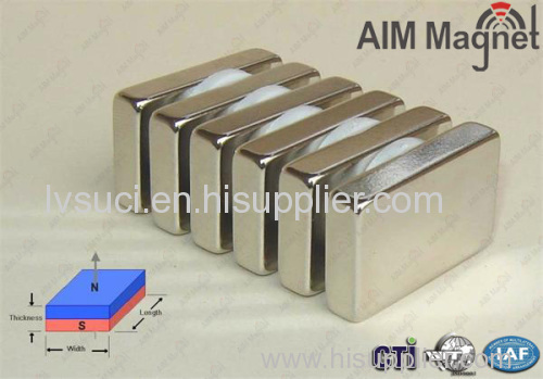 Strong Magnetic Neodymium Block Magnet