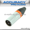 Professional 3pin XLR Male Audio Connector XLR194ORG