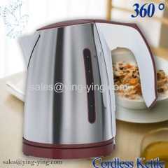 1.0L stainless steel electric kettle Tea kettle GS CE ROHS NEW