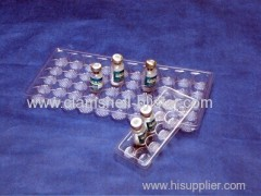 Plastic blister tray for medical packaging