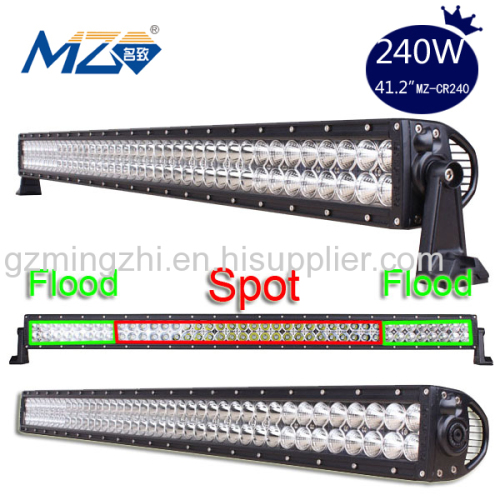 Waterproof Wholesale Factory Price Offroad 240W Cree LED Light Bar