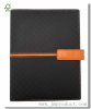 magnetic leatherette diary notebook with folder