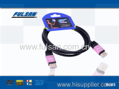 high speed 1.4V 1080p 24k gold plated hdmi cable wholesale
