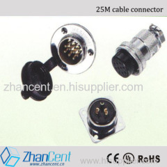 Circular Connector Waterproof connector cable plug zhancent