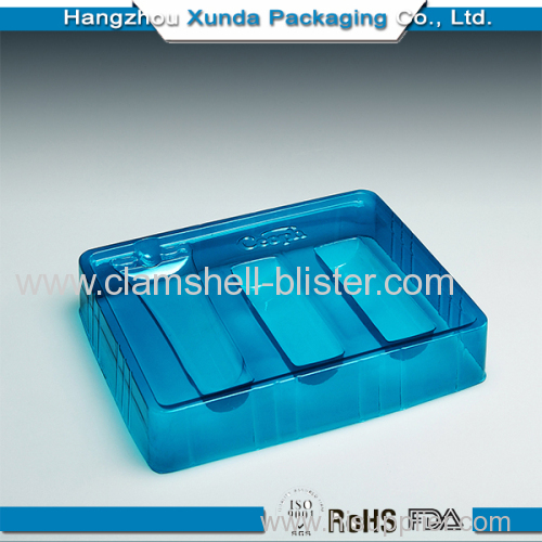 Plastic blister inster tray for cosmetic