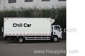 Chill car insulation material