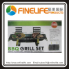 Portable Compact Small Mini BBQ Grill Set
