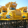 JS series concrete mixer equipped on Concrete Batching Plant