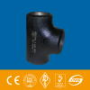 EQUAL TEE ASTM A234 WPB black paint seamless or welded
