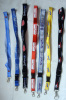 custom printed polyester lanyard neck strap and key holder lanyard