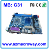 Motherboard G31 DDR2 for Desktop Computer
