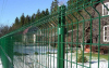 2500mm Green Colour Welded Wire Mesh Fence